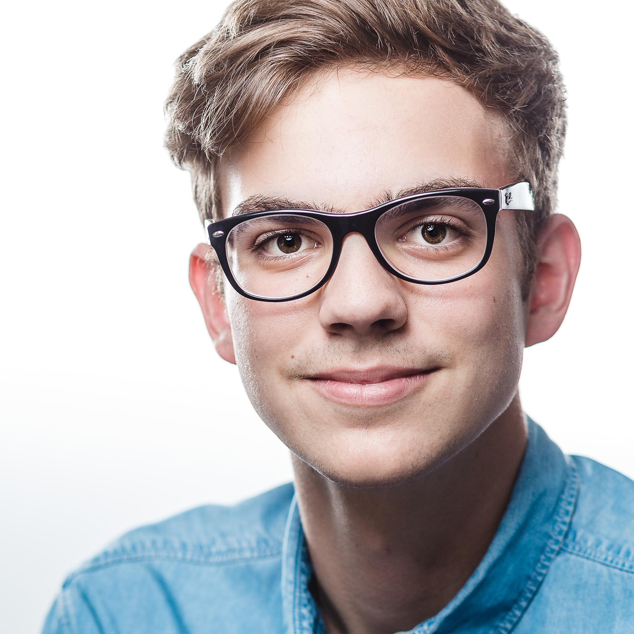 Markus Schneeberger Businessfotografie - headshot flo - Headshotportrait
